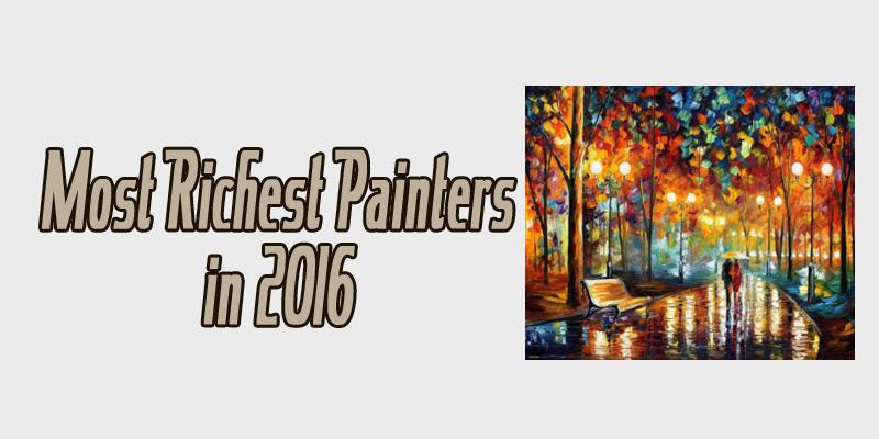 Richest Painters net worth in 2016